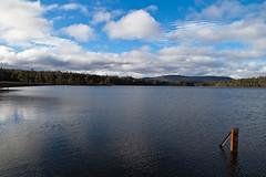 Tasmania (:: Blende 22 ::) Tags: road blue winter sky lake clouds landscape is afternoon australia tasmania usm australien hobart tasmanien f4l ef24105mm canoneos5dmarkii