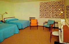 Travel Haven Motel, Cleveland Ohio (1950sUnlimited) Tags: travel ohio vacation interior postcards leisure roadside motels