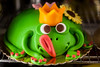 Prince frog (Georgina ♡) Tags: cute cake tongue yummy funny prince frog crown humourous bigtongue pinktoenails frogcake