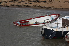 Sinking (ray 96 blade (retired)) Tags: old sea beach pub sands vikingbay sinkingboat bleakhouse hightides broadstairsharbour