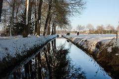 Winter in Helvoirt (Rens Bressers) Tags: white snow cold holland nature netherlands december village nederland brabant noordbrabant 2014 helvoirt