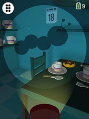 Worm shadow (dabadugames) Tags: shadow game monster children fear puzzle bedtime app dismonster