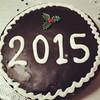 Τέλεια η βασιλόπιτα μας! Ευτυχισμένο το 2015 ! Notre galette des rois est vraiment super ! Bonne année 2015  ! :)