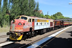 42101 Heavy trial MossVale -2  9-11-14 (BL262000) Tags: 45 421 4501 42101