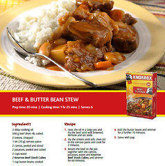 Beef and Butter Bean Stew Recipe (KnorroxSA) Tags: knorrox stewrecipe beefcube knorroxstockcubes