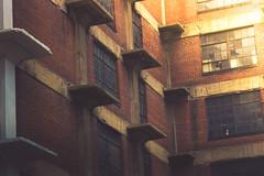 brick :: glass :: sun (shane holsclaw) Tags: city windows brick window bricks citystreets charlestonwv