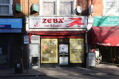 Zeba (SReed99342) Tags: uk england london beauty shop hair store storefront salon shopfront zeba willesdengreen