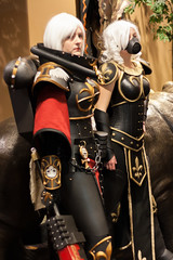 DaishoCon-7868 (YGKphoto) Tags: anime wisconsin costume cosplay 40k corps foam armor convention warhammer con dells weapons 2014 daisho foamcorps