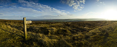 Golden Moorland Panorama (ben_thedriver) Tags: old blue autumn sunset england sky panorama orange cloud sun cold colour green fall film grass skyline backlight clouds contrast canon walking landscape golden landscapes high still raw quiet durham natural dusk yorkshire naturallight sharp hills filter lee hour nd bleak moors rest backlit grad northyorkshire goldenhour filmic constant hartlepool filmlook constantlight ndgradfilter