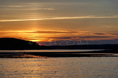 Coucher de soleil sur Bar Harbor /Bar Harbor Sunset (Claude-Olivier Marti) Tags: sunset usa unitedstates coucherdesoleil barharbor amrique etatsunis amriquedunord