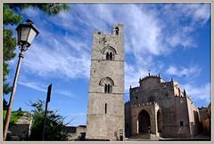 Chiesa madre Erice (Schano) Tags: mediterranean mediterraneo italia sony chiesa sicilia erice trapani chiesamadre stilegotico alfa3000 ilce3000 sonyilce3000
