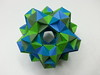 20 cuboctahedra(paper stirps) (hyunrang) Tags: origami dodecahedron hur cuboctahedron knotology paperstrip tetrahedralsymmetry