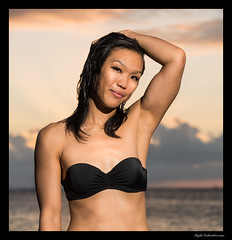 Ala Moana Swimwear - Jennifer (madmarv00) Tags: alamoana alamoanabeach d800 jennifermiyahira nikon oahu beach girl hawaii honolulu kylenishiokacom swimwear flickrmodel