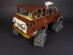 Steampunk Jeep Forward Control (rabidnovaracer) Tags: truck lego jeep steampunk fc150 forwardcontrol fc170