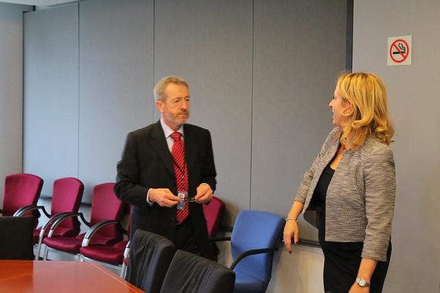 Fine Gael PP Meeting with Esther De Lange