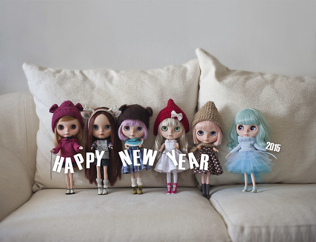 Happy new year from the girls and me, and my best wishes for you all dolly friends.