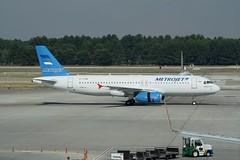 EI-FDM (IndiaEcho) Tags: canon turkey eos airport aircraft aviation aeroplane antalya civil airbus airfield a320 ayt metrojet 1000d eifdm