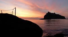 Immagine 029 (Lorenoir) Tags: sunset italy sunrise italia tramonto campania alba napoli naples tramonti ischia isola albe leverdusoleil isoladischia couchedusoleil loredanavicario