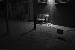 Room 5 (Ranga 1) Tags: longexposure nightphotography urban blackandwhite night canon loneliness nocturnal australian motel australia victoria smoking lonely nightexposure davidyoung lowlightphotography swanhill ef24105mmf4lusm canoneos5dmarkiii