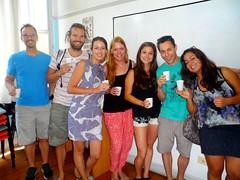 On fête la fin de nos cours d'espagnol!🎉