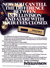 Intellivoice expansion for Intellivision, 1982 (Tom Simpson) Tags: vintage advertising 1982 ad voice advertisement videogames gaming electronics videogame mattel intellivision retrogaming texttospeech intellivoice