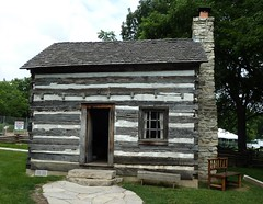 Naperville, IL, Naper Settlement, Log Cabin (Mary Warren (6.3+ Million Views)) Tags: wood logcabin napervilleil napersettlement