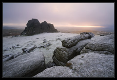 Cold Stone Killer (Explored) (RattyBoots) Tags: snow canon january 7d dartmoor 2015 haytor dartmoornationalpark tributeshot smashed1022