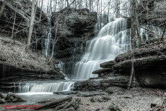 Machine Falls - Short Springs State Natural Area - Jan. 2015 (mikerhicks) Tags: winter usa landscape geotagged unitedstates hiking tennessee waterfalls hdr tullahoma photomatix lakehills tennesseestateparks machinefalls shortspringsstatenaturalarea canon7dmkii machinefallsbranch sigma18250mmf3563dcmacrooshsm geo:lat=3541290000 geo:lon=8617922833