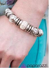 5th Avenue White Bracelet K2 P9410A-5