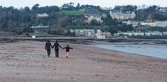 Long walk, on a long beach (Rich3591) Tags: winter longbeach jersey lowtide challengeyouwinner pentaxk20d