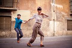 Miguel Czar & Carla Saz (Anna Gadar) Tags: valencia swing lindyhop lindy blackbottom