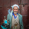 Man selling daggers on the streets of old Sanaa - Yemen