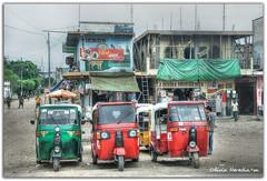 On the road (Olivia Heredia) Tags: flores america guatemala cab taxi transportation tikal hdr highdynamicrange centralamerica guatemalacity petn tonemapped tonemapping ruinasmayas 1exp oliviaheredia oliviaherediaotero