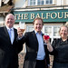 Hugo re-opens The Balfour, Sidmouth