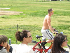 IMG_0437 (FOTOSinDC) Tags: shirtless man tattoo ink muscle chest handsome biker shorts