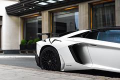 Bianco Canopus (Callum Bough) Tags: auto road street house london cars car nikon automobile automotive d750 autos lamborghini supercar sv supercars roadster v12 canopus biano superveloce aventador