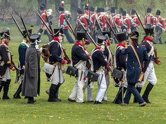 Waterloo Reenactment-67.jpg (glenjessop) Tags: lines war uniform military yorkshire rifle battle panasonic marching napoleon soldiers shooting reenactment redcoats drill barnsley 1815 dukeofwellington southyorkshire livinghistory napoleonic napoleonicwars therifles lumixg periodmilitary cannonhallcountrypark 33rdregimentoffoot lumixdmcgh4 waterloobattleofwaterloo