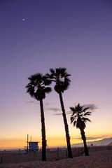 Santa Monica sunset #2 (evemariebodet) Tags: santa sunset soleil monica coucherdesoleil