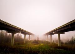 Bridges without end (jonathan.lafrance7) Tags: fog gatineau buckingham bridg