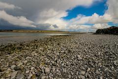 Not for sunbathing (Costigano) Tags: ireland sky irish beach water clouds landscape rocks clare atlantic burren waterscape