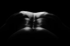 LowKey I (Ilkka Hakamäki) Tags: white black female studio naked nude nikon key flash low sensual setup nsfw 28 tamron lowkey vc 70200 vi usd kicker yongnuo d7000 removedfromstrobistpool seerule3 yn560iii