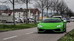 Hulk. (fabianbaege) Tags: verde green mantis 4 huracan karlsruhe lamborghini supercar carspotting lp610 lp6104 gallardohuracan