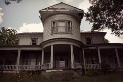 semicircle house (History Rambler) Tags: old house abandoned nc decay iclaimtheroundroom