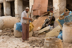 Counting Sheeps (joepar64) Tags: morocco tannery fs