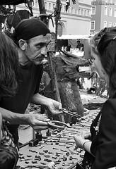 Mercado Medieval 2016 (stl Mrtnz) Tags: portrait blackandwhite blancoynegro noiretblanc retrato zaragoza mercadomedieval saragossa saragosse mercadodelastresculturas