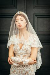 [somewhere in Taiwan] bride and veil (pooldodo) Tags: wedding prewedding pooldodo taotzuchang bride veil