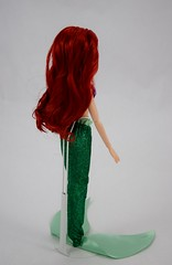2016 Ariel Classic 12'' Doll - US Disney Store Purchase - Deboxed - Standing - Full Left Rear View (drj1828) Tags: disneystore doll 12inch classicprincessdollcollection 2016 ariel purchase deboxed standing