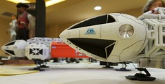 EAGLES AT WONDERFEST 2016. (suki5150) Tags: ohio robot kentucky lucasfilm tomcruise r2d2 louisville droid oblivion c3po space1999 drone brianjohnson theempirestrikesback gerryanderson wonderfest r5d4 moonbasealpha eagletransporter nicktate silentrunningtribute
