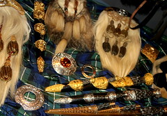 Highland Wealth (austexican718) Tags: history scotland edinburgh arms military knife jewelry clasp knives broach sporran dirks