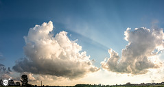 From behind the clouds (Robert Stienstra Photography) Tags: cloud nature netherlands clouds landscape outdoors landscapes nikon outdoor wageningen skyscapes cloudscape cloudscapes dutchlandscape naturalforces cloudformations landscapephotography skyporn d7100 nikond7100 nikonnl
